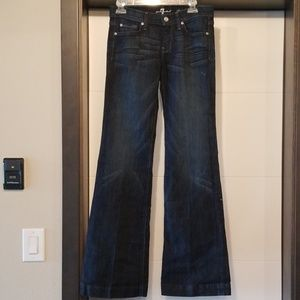 NWT 7for all mankind Dojo flare leg jeans